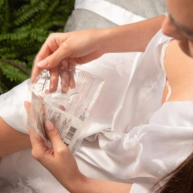 Бриллиантовая водородная маска-пенка