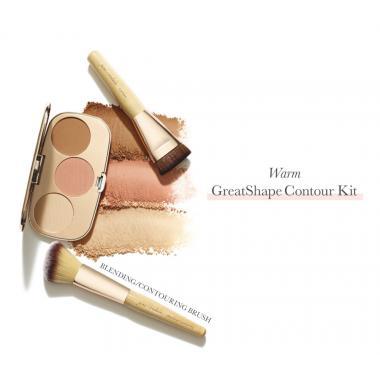 Кисть для контурирования Blending/Contouring Brush Rose Gold