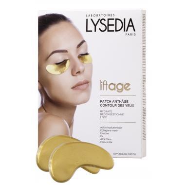 """Lysedia PATCH ANTI-AGE CONTOUR DES YEUX Анти-возрастная маска для контура глаз """"Золотой Патч"""" (5 комплектов)"""